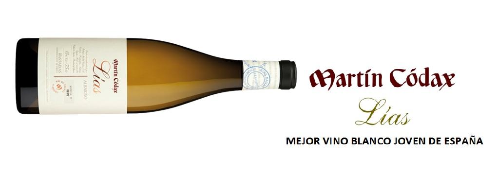Martín Códax Lías, Best New White Wine of Spain