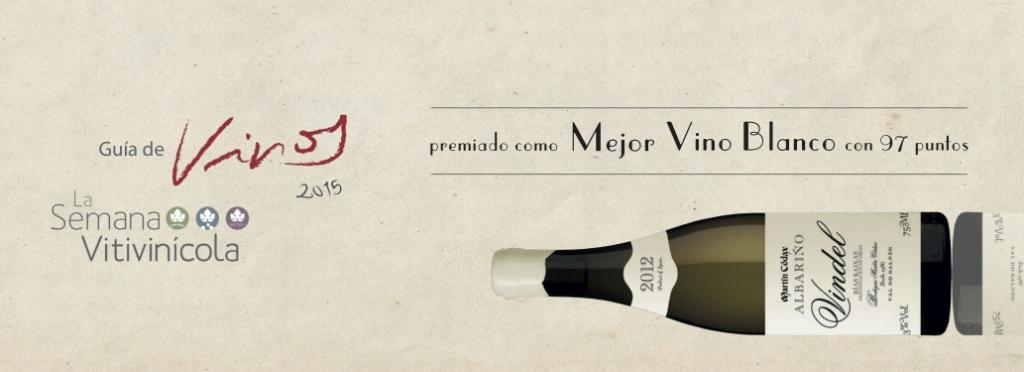 Martín Códax Vindel, best white wine by La Semana Vitivinícola