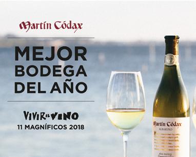 Martín Códax, Best Winery 2018