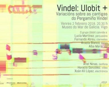 Variacións sobre as cantigas do Pergamiño Vindel
