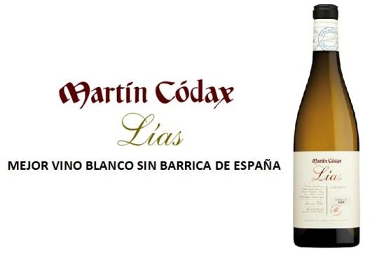 Martin Codax Lias Mejor Vino Blanco de España