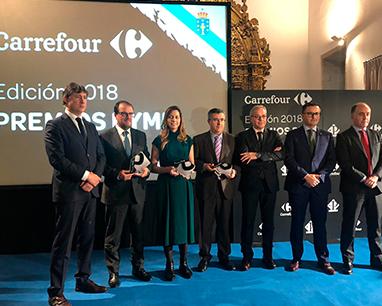 Carrefour premia a Martín Códax como empresa más innovadora de Galicia