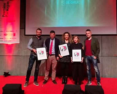 Os Xoves de Códax, galardonados en los Premios Paraugas