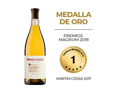 Martín Códax, oro en los Premios Magnum 2018
