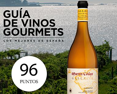 Martín Códax Gallaecia obtiene 96 puntos en la Guía Gourmets 2019