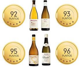 La crítica valora con sobresaliente los vinos Martín Códax