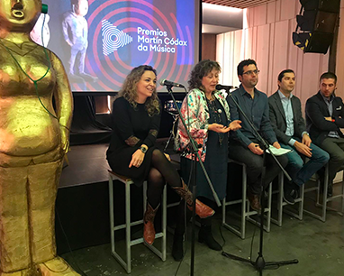 Arranca la VI edición de los Premios Martín Códax da Música