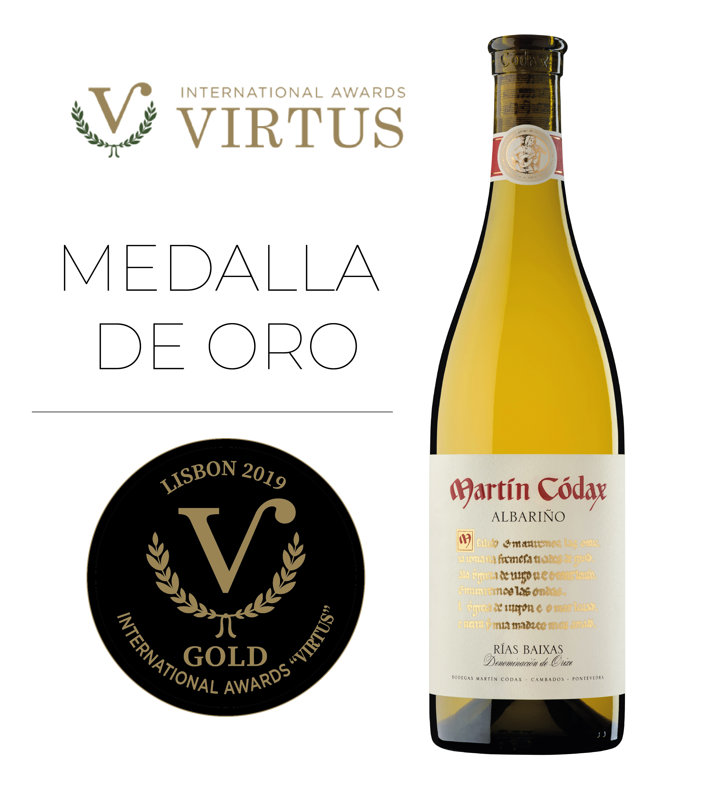VIRTUS_ORO_MC_MEDALLA ORIGINAL